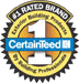 CertainTeed 1 Raited logo